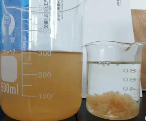 脱色剂化工污水脱色实例